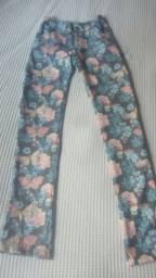 Calça infantil florida