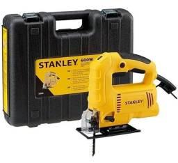 Serra tico tico Stanley profissional 600w com Maleta 220v Sj60k