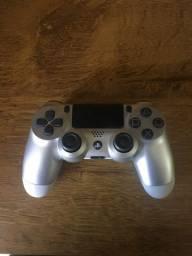Controle original PS4 Sony prata