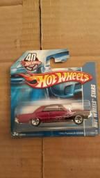 Miniatura Carrinho Hot Wheels GM Pontiac GTO 1965