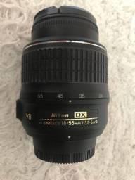 Lente NIKON 18-55mm DX