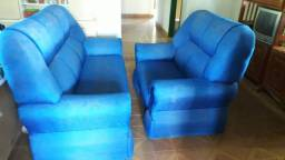 Jogo de sofá seminovo (disponível em Cerejeiras - Ro)