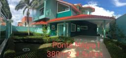 CASAS em Condomínios na PONTA NEGRA - Alto Padrão