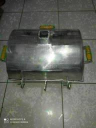 Churrasqueira chapa de alumínio fundido grosso 30/40