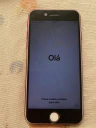 SEM TROCA - iPhone 7 (vermelho) 128GB