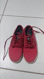 Tênis Qix NB vermelho 34