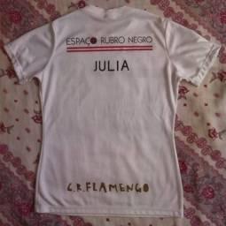 camisa do Flamengo M * com nome JULiA