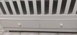 Berço mini cama com colchão