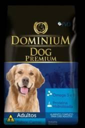 Ração Dominium Premium 25kg 2x no cartão sem juros !