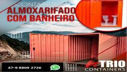 Título do anúncio: Container Almoxarifado com banheiro