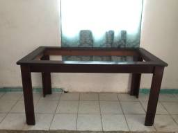 Mesa de madeira para reforma