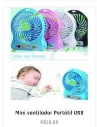 Título do anúncio: Mini ventilador portátil