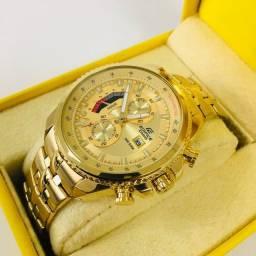 Título do anúncio: Relógio casio edifice 1° linha com garantia prova d?água