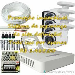 Sistema de CFTV, ALARMES E INTERFONES.