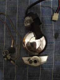Ignição com tampa do tanque da titan 150