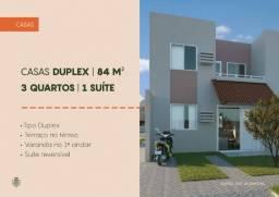 Casas Duplex no Luiz Gonzaga - Quintas das Alamedas - André Luis