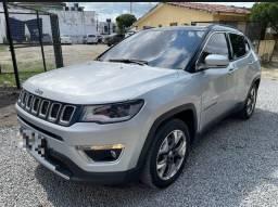 Título do anúncio: Jeep Compass limited 2.0 Automatico blindado afronte nível 3 em gel ipva 2021 pg