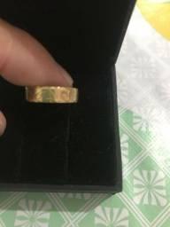 Anel escrava em ouro 18k 750