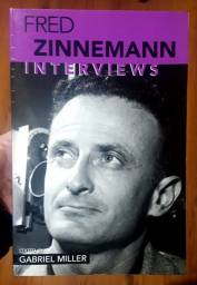 Livro Fred Zinnemann: Interviews (importado) Cinema