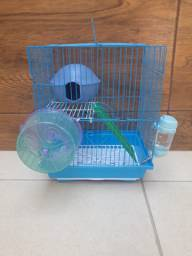 Gaiola para hamster e acessorios