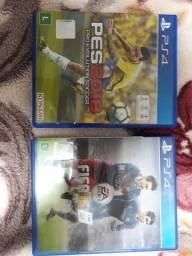 PES18 + FIFA16
