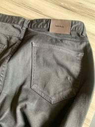 Calça masculina sarja preta 44