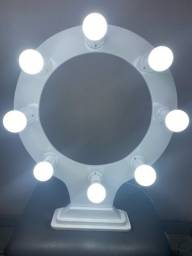 Ring light com 8 Lâmpadas
