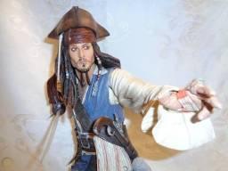 Jack Sparrow Disney Piratas do Caribe com som! Cinema. Raridade! Johnny Depp