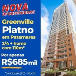 Apartamento para venda tem 110 metros quadrados com 3 quartos em Patamares - Platno Greenv