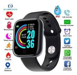 Relógio Inteligente Smartwatch D20 Pró Bluetooth Android/ios