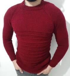 Blusão de lã tamanho M