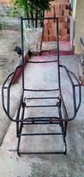 2 cadeira de ferro (estrutura)