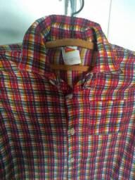 Camisa xadrez Nova