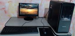 PC Completo, Core 2 Quad, 3gb Ram, hd 400gb, Monitor 15
