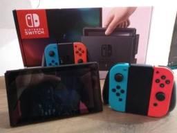 Nintendo switch 32gb nacional(muito novo)