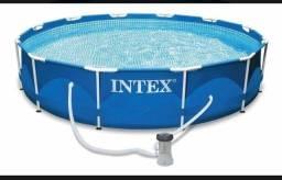 Título do anúncio: Piscina estrutural intex 6500 litros com filtro.