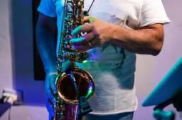 Aulas de saxofone e flauta