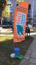 Wind banner Completo Direto de Fábrica