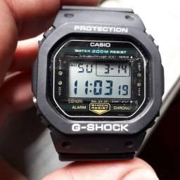 Relógio G-Shock Casio DW 5200 fundo rosca