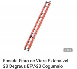 Título do anúncio: Escada Extensível 23 degraus