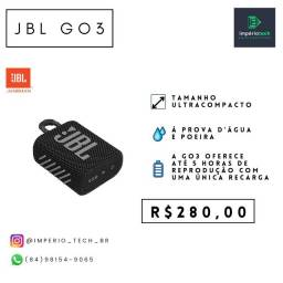 Título do anúncio: JBL GO 3