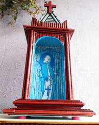 Oratório colonial para imagens sacras