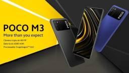 Xiaomi Poco M3 128 gb global lacrados com garantia passamos cartão