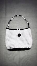 Bolsas de crochê feita à mão