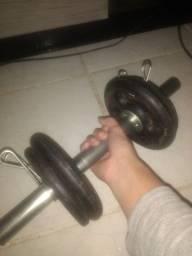 1 Halter Para Musculação Troco Por Placa de Vídeo