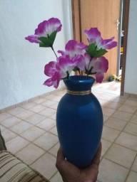 Vaso e flor