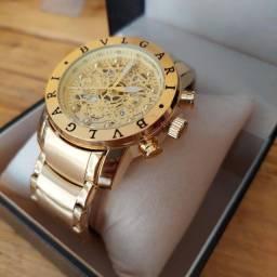 Relógio Bvlgari Premium Importado C/Caixa
