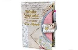 Bíblia iblia letra grande com harpa linda a mais vendida do Brasil