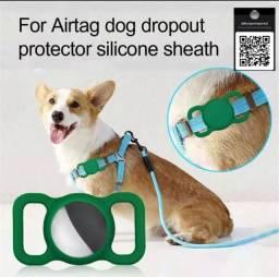 Título do anúncio: capa de silicone para Apple Airtag multe uso rastreamento seu Pet