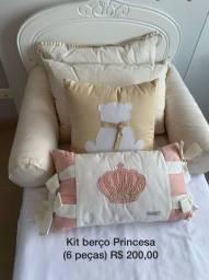 Kit berço / kit cama infantil ou Babá